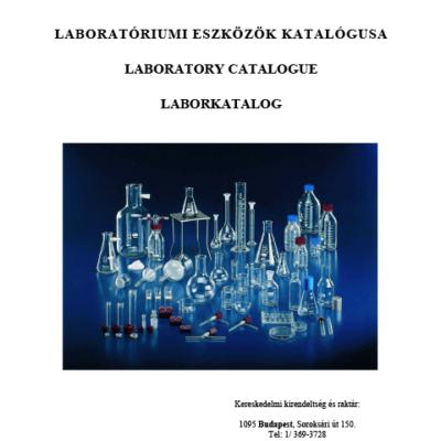 Csonkaglas Laboratory Catalogue 2017.