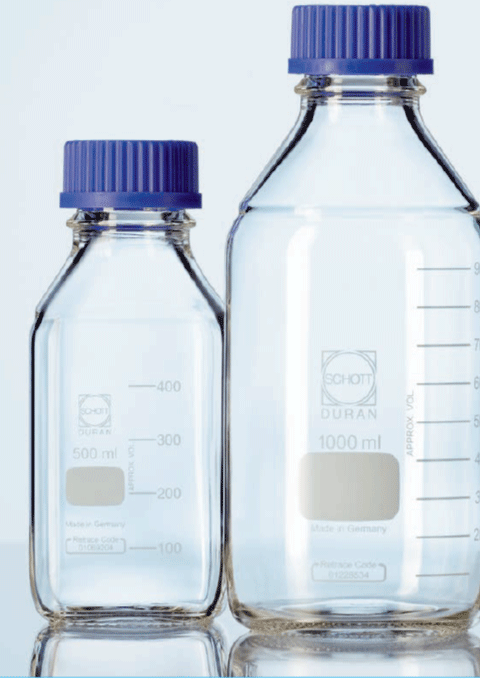 DURAN® GL 45 Laboratory glass bottles and accessories
