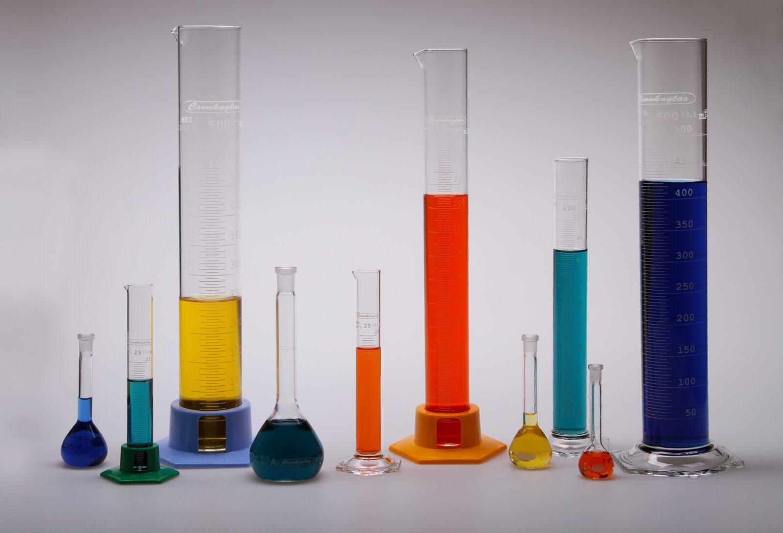 Laboratóriumi üvegeszközeink